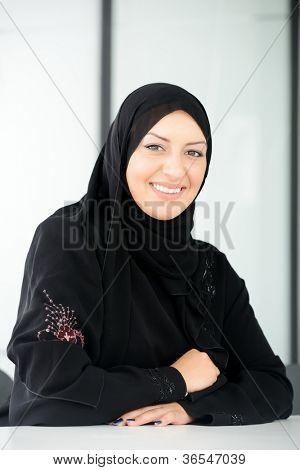 Beautiful muslim arabic woman