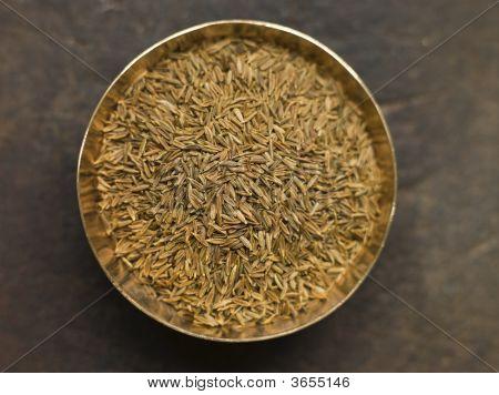 Dish Of Cumin Seeds