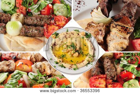 Arabic food.