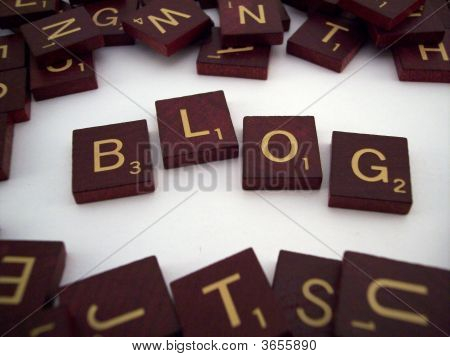 Blog Letter Tiles