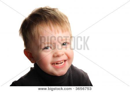 Cute Young Smiling Boy