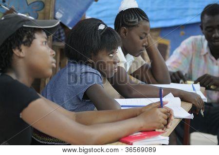 Escola em Cite Soleil-Haiti.