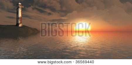 Sun On The Horizon.