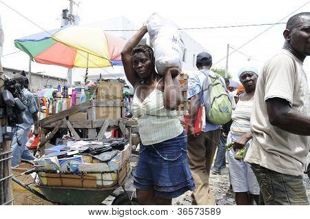 Iron Market in Haiti.