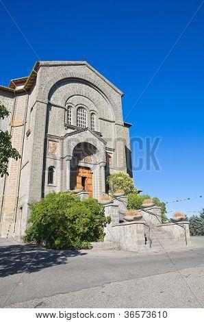 Church of Corpus Domini. Montefiascone. Lazio. Italy.