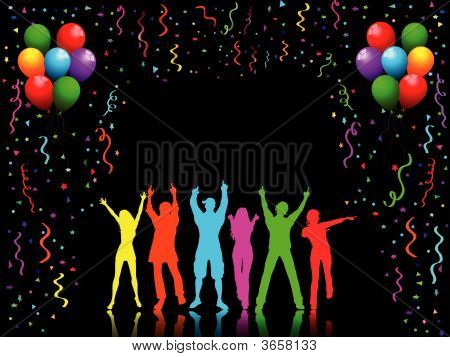 Party-People dancing