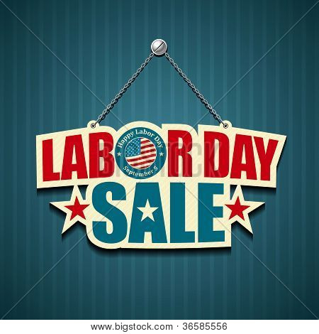 Labor day USA. text signs.
