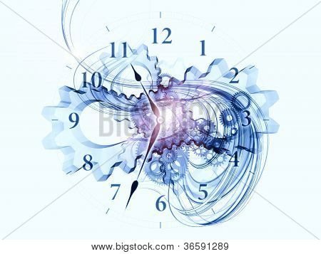 Exploded Clock