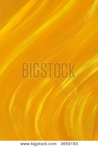 Sunny Abstract Oil Painting