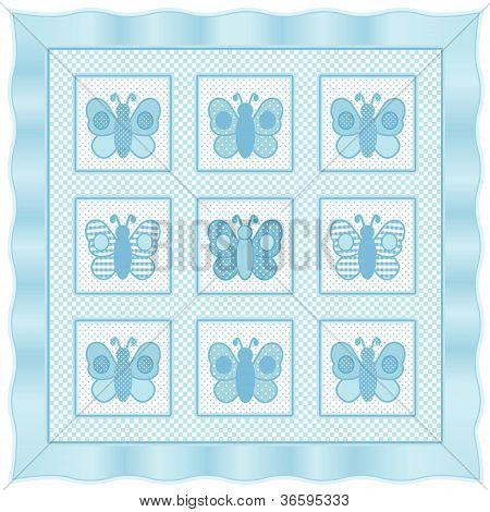 Baby Butterflies Quilt