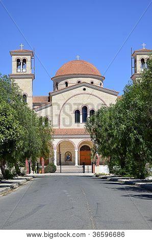 Monastery In Cyprus