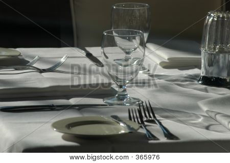 Fresh Table Setting