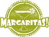 Margarita Cocktail Bar Stamp