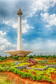 National Monument Monas. Merdeka Square, Central Jakarta, Indonesia