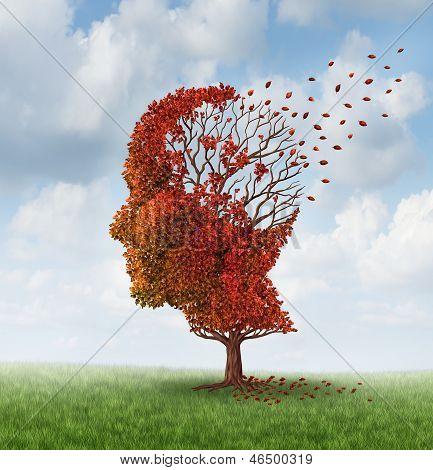 Verlieren Funktion des Gehirns
