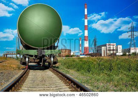 Eisenbahn-Zisterne