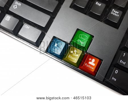 Social Network Keyboard