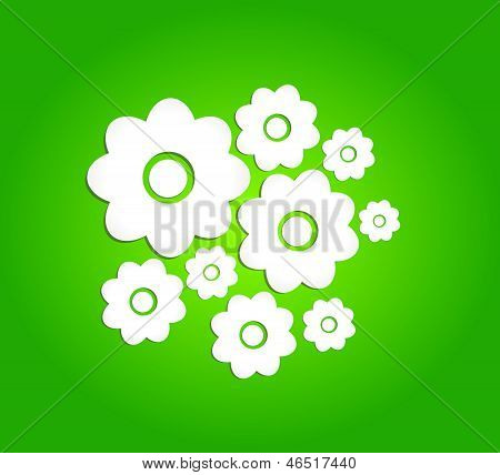 Vector Abstract Flower