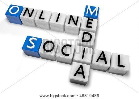 Crossword Online Social Media