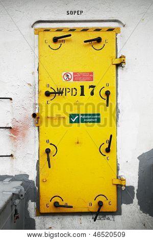 Ship's Watertight Door , restricted area
