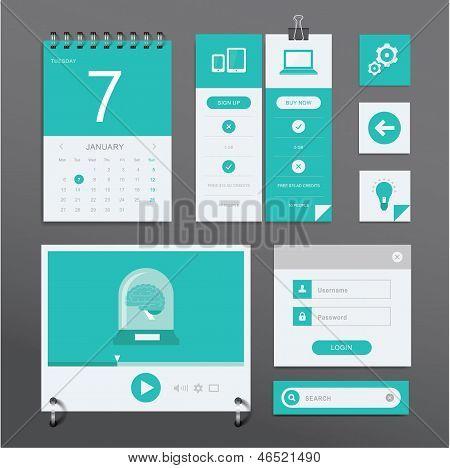 Conjunto de interface do usuário