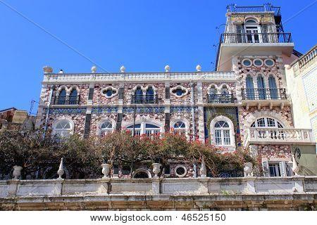 Building In Alfama, Portugal