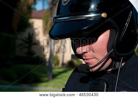 Motor cop