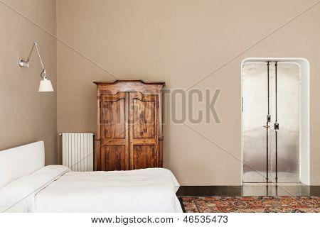 beautiful interior of hotel, view bedroom