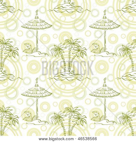 Seamless exotic pattern