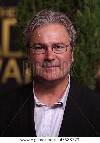 LOS ANGELES - FEB 6:  GORE VERBINSKI arrives to the 2012 Academy Awards Nominee Luncheon  on Feb 6, 2012 in Beverly Hills, CA