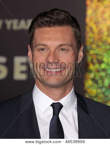 "LOS ANGELES - DEC 05:  RYAN SEACREST arriving to ""New Year's Eve"" World Premiere  on December 5, 2011 in Hollywood, CA"