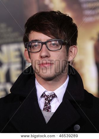 "LOS ANGELES - DEC 05:  KEVIN McHALE arriving to ""New Year's Eve"" World Premiere  on December 5, 2011 in Hollywood, CA"