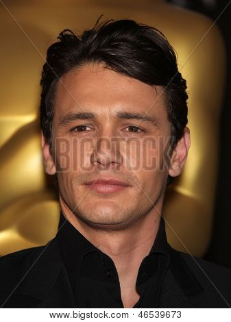 LOS ANGELES - FEB 7:  JAMES FRANCO arrives to the 83rd Academy Awards Nominees Luncheon  on Feb 7, 2011 in Beverly Hills, CA