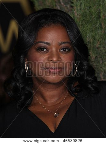 LOS ANGELES - FEB 6:  OCTAVIA SPENCER arrives to the 2012 Academy Awards Nominee Luncheon  on Feb 6, 2012 in Beverly Hills, CA