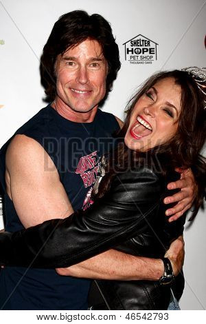 LOS ANGELES - JUN 3:  Ronn Moss, Devin DeVasquez at the Player Concert celebrating Devin DeVasquez 50th Birthday to benefit Shelter Hope Pet Shop at the Canyon Club on June 3, 2013 in Agoura, CA