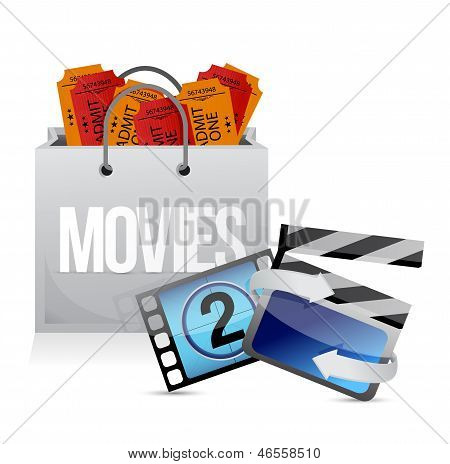 Shopping Bag With Cinema