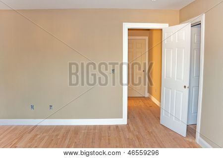 Unfinished Home Room Interior