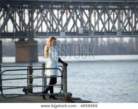 Lady On Promenade