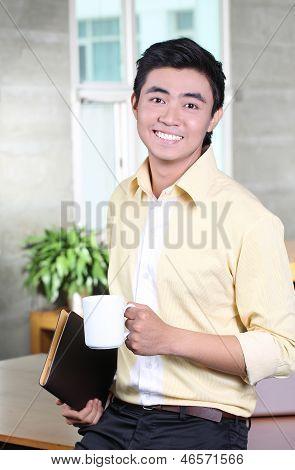 Junior Asian Businessman