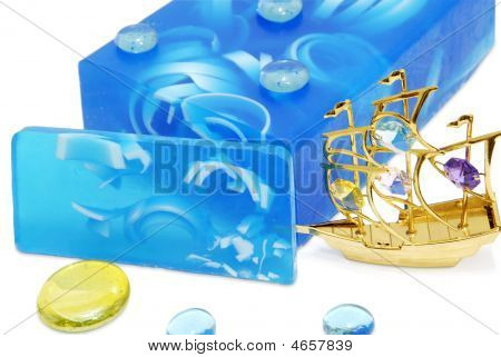 Blue Soft Soap
