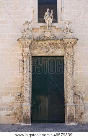 Church of Madonna delle Grazie. Maglie. Puglia. Italy.