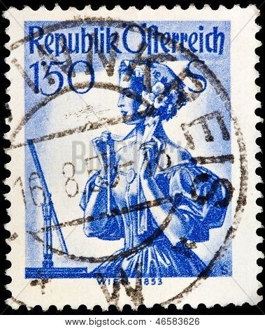 Austrian Post Stamp