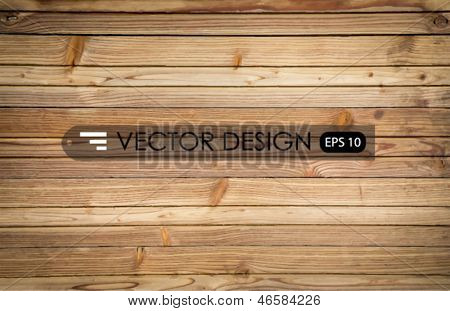 Wood texture background.Vector illustration.