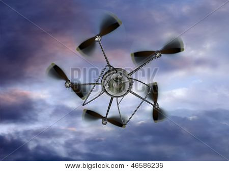 Uav Helicopter Camera