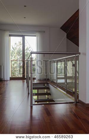 Mezzanine, Stairs