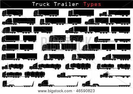 Tipos de remolque de camión