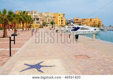 Abu Tig Marina. El Gouna, Egypt