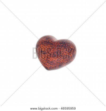 Red Black Orange Heart