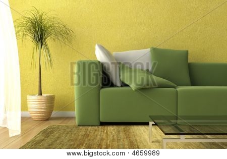 Living Room Detail