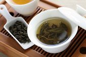 pic of serving tray  - traditional chinese tea ceremony - JPG